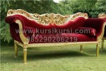 Wedding Sofa Pengantin Jok Merah KKW 485