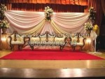 Wedding Stage with Antique Sofa Set KKW 525