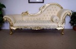White Chaise Wedding Sofa Chair KKW 527