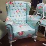 Wing Chair Furniture Klasik
