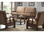 Almoir Wooden Sofa Designs For Drawing Room KKW 932