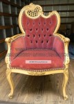Antique French Louis Gold Furnising  KKW 777