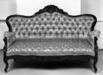 Bangku Sofa Kursi Overal Duco Hitam KKW 723