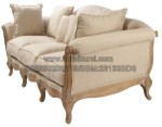Bangku Sofa White Wash Furniture KKW 739