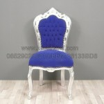 Chaise Baroque Bleue Outremer  KKW 781