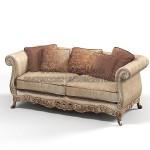Classic Baroque Sofa Terbaru KKW 743