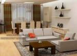 Desain Interior Ruang Tamu Kecil Mungil Minimalis Tipe 36 KKW 954