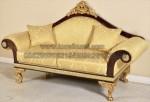 Jual Bangku Sofa 2 Seater Gold KKW 751