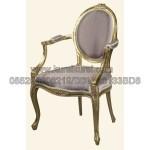 Kursi Sofa Rococo Gold Finish KKW 899