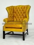 Kursi Sofa Wing Yellow Kancing KKW 911