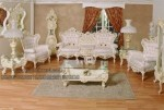 Model dan Desain Set Sofa Tamu Mewah KKW 974