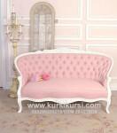 Sofa Pink Shabby Cantik dan Elegant KKW 987