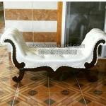 Bangku Sofa Black White KKG 001