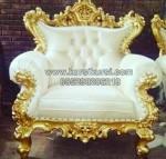Kursi Sofa Finishing Emas KKG 040