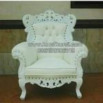 Kursi Sofa Tamu Duco Putih KKG 058
