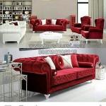 Kursi Tamu Sofa Merah Maroon Best Seller KKG 069