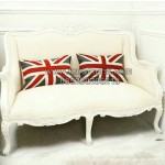 Kursi Wing Chair Dooble Seater KKG 077