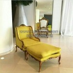Modern Sofa Yellow Leather KKG 090