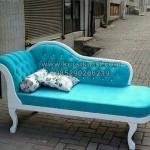 Modern Vintage Sofa Blue KKG 091