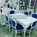 Shabby Kursi Makan Sofa Modern KKG 099