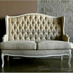 Wing Chair Doble Seater Duco Putih Doff KKG 101